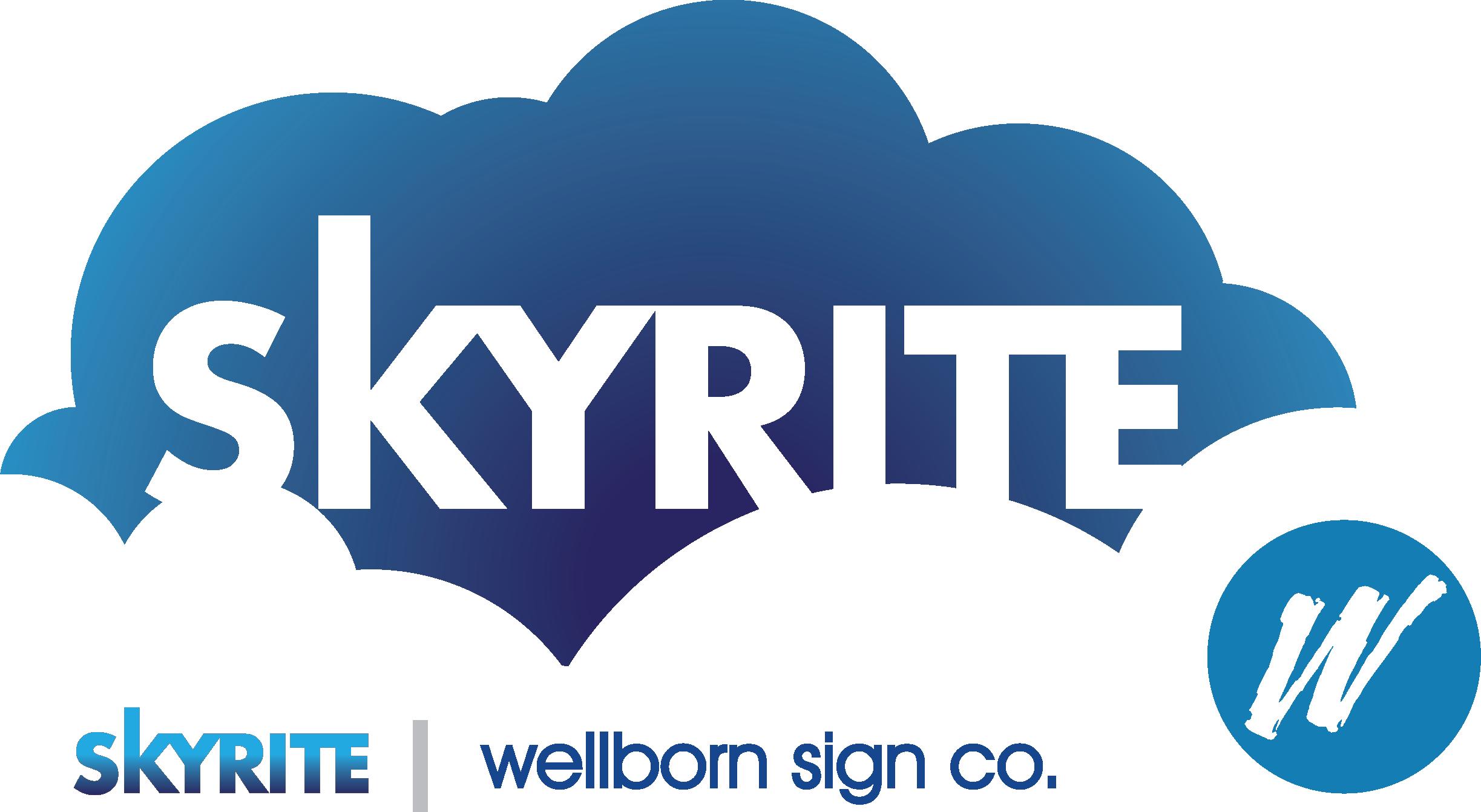 SkyRite Signage Company logo