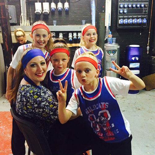 Amy Young Dance kids party entertainment. Children at dance event