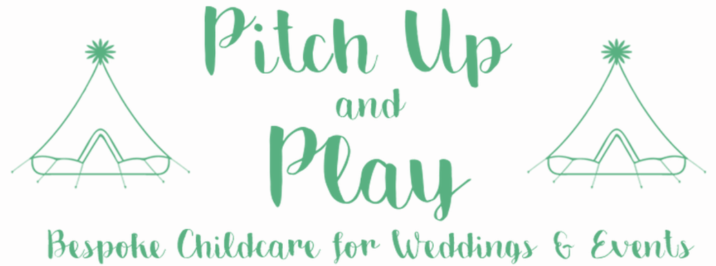 Pitch Up and Play  Logo. Friends with Amy Young Dance
