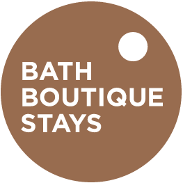 Bath Boutique Stays Logo. Friends with Amy Young Dance