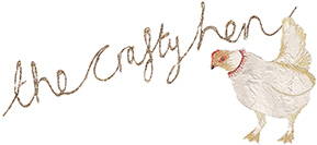 The Crafty Hen Logo. Friends with Amy Young Dance