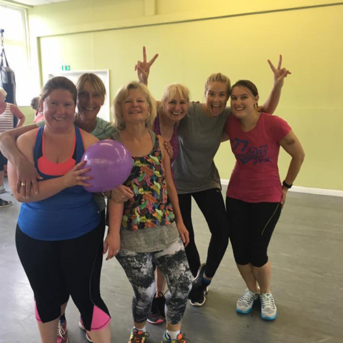 Hen party activities in Bath and Bristol with Amy Young Dance. image of women after an event.