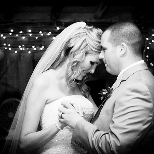 Image of couple dancing at wedding after wedding dance classes with Amy Young Dance