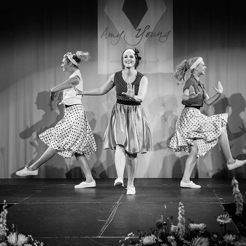 Amy Young Dance party entertainment bristol. Images of dancers doing the Lindy Hop in black and white