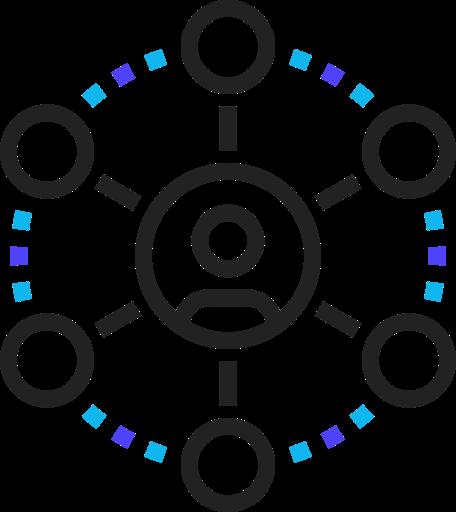 icon of marketing team