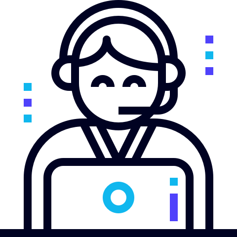 icon of support person