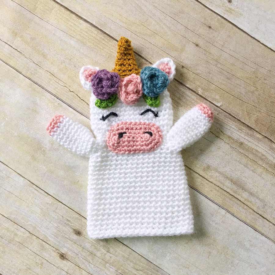 Thnlife Unicorn Hand Puppet Pattern Erin Greene