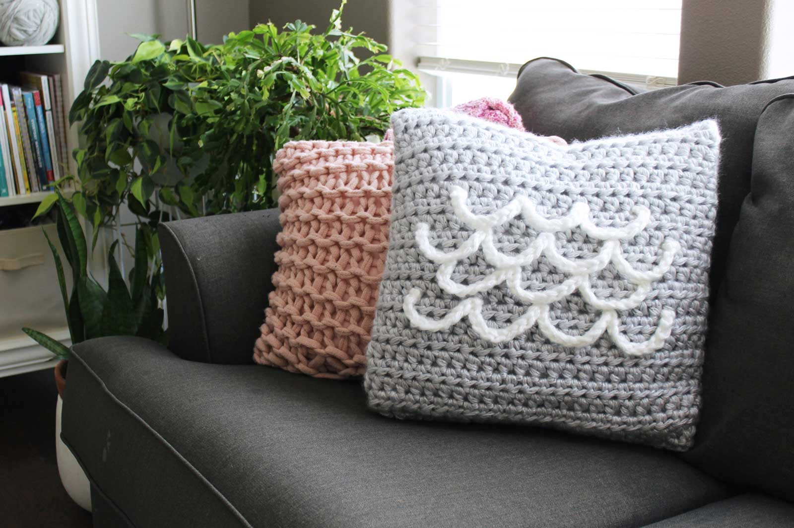 THNLife - Summer Crush Pillow Crochet Pattern | Jessica Carey