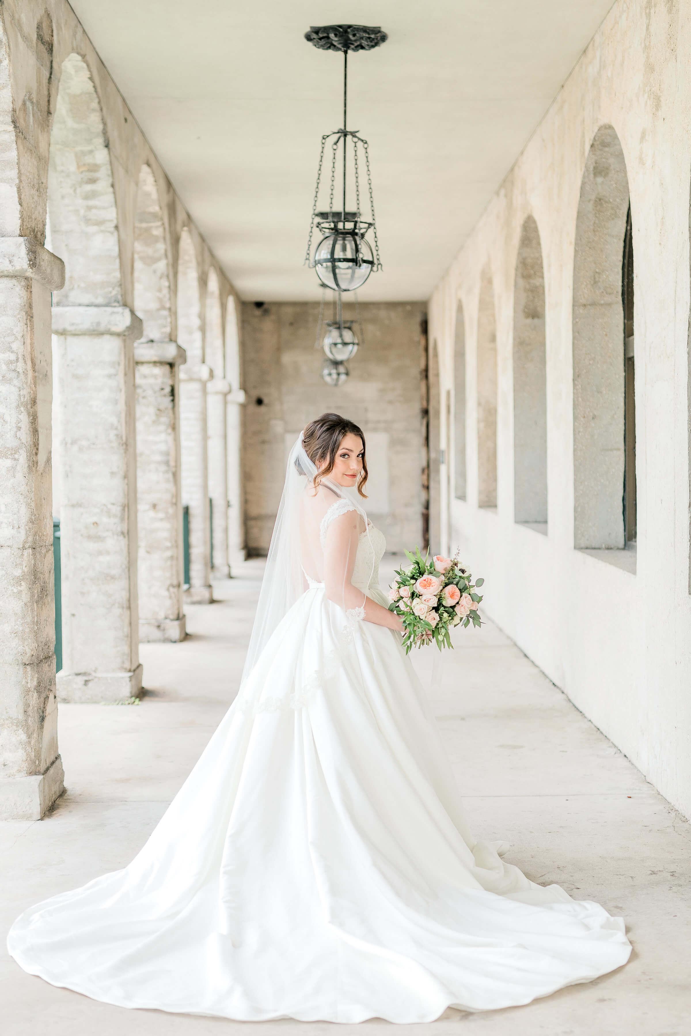 robert bullock bride jacksonville florida lace sleeves wedding dress