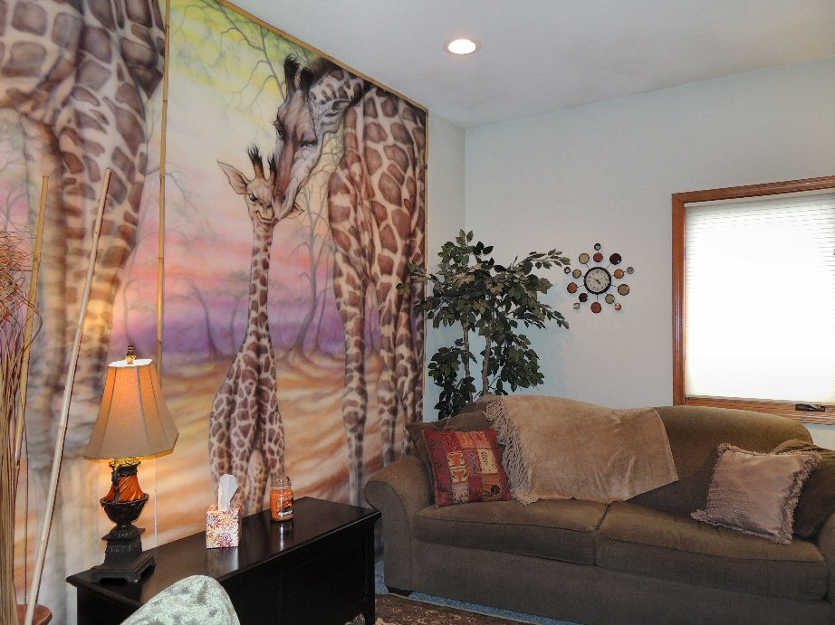 "The Santé Group ""Giraffe"" Therapy Room"