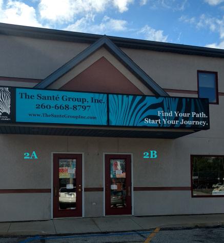 The Santé Group, Inc. entrance and signage