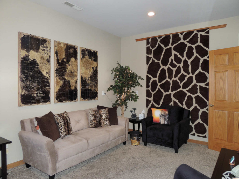 The Santé Group African Game Therapy Room