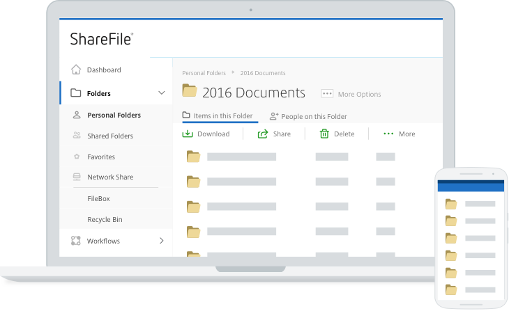 Sharefile Screenshot