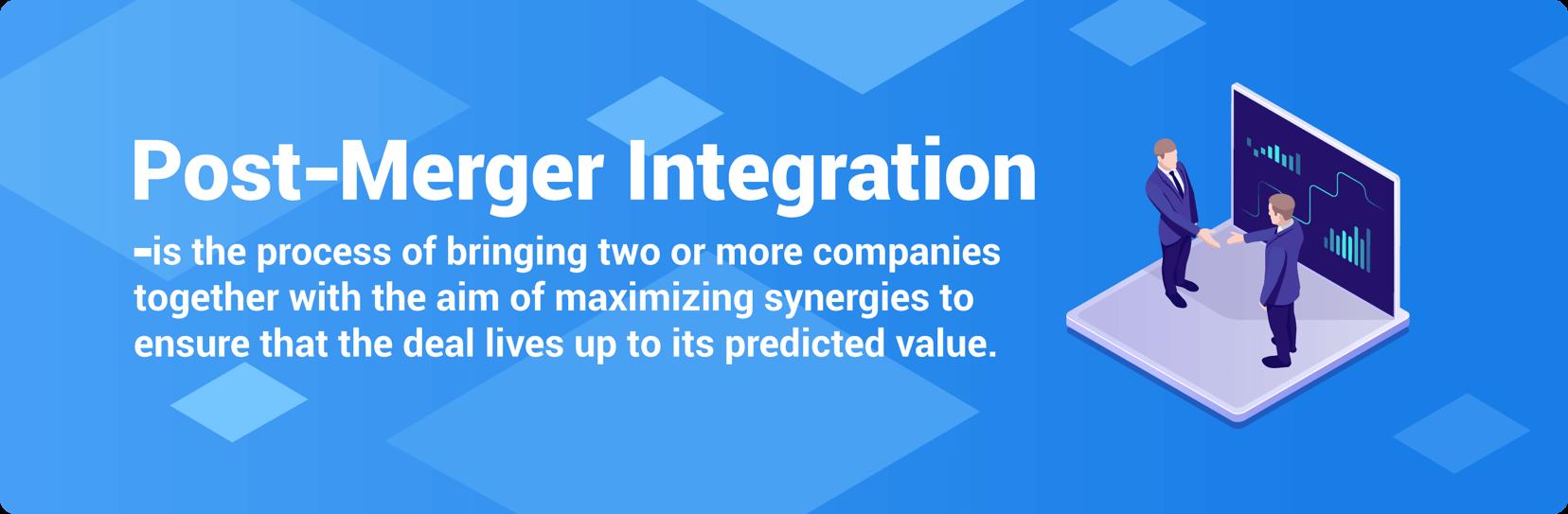 post merger integration definition