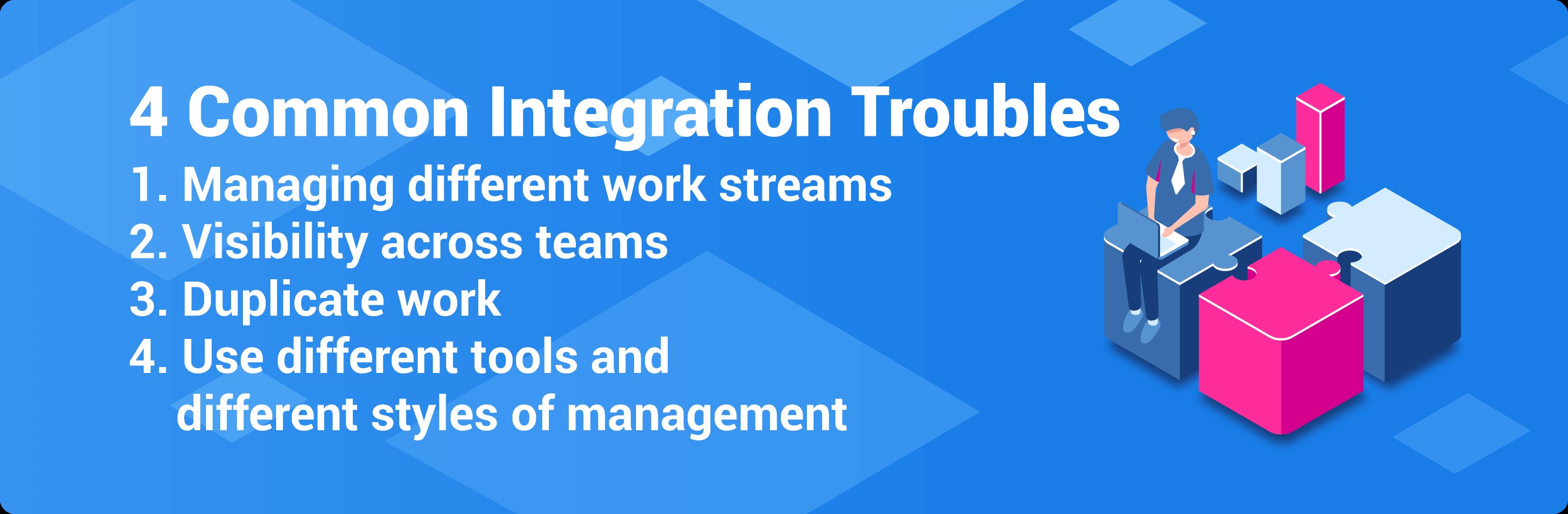 common integration problems