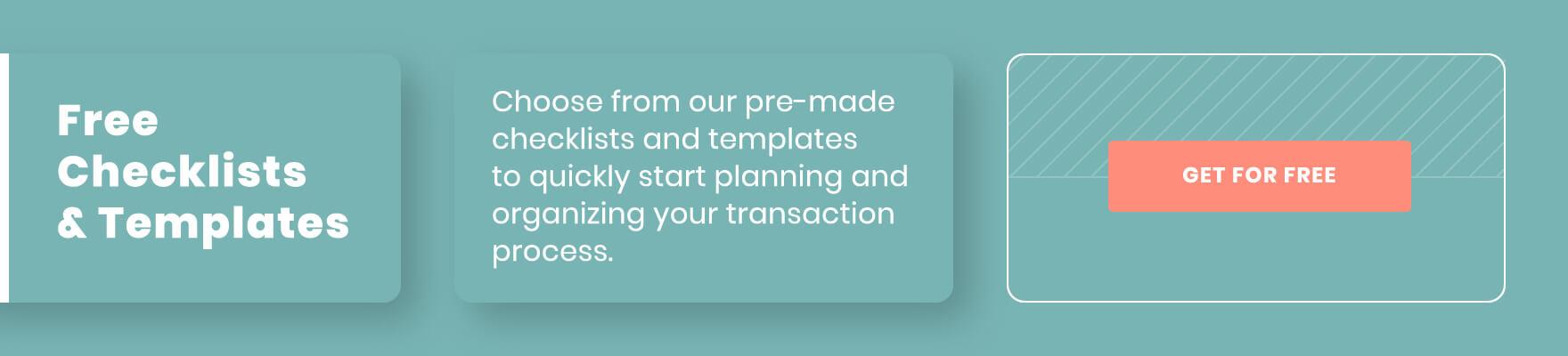 free checklists & templates