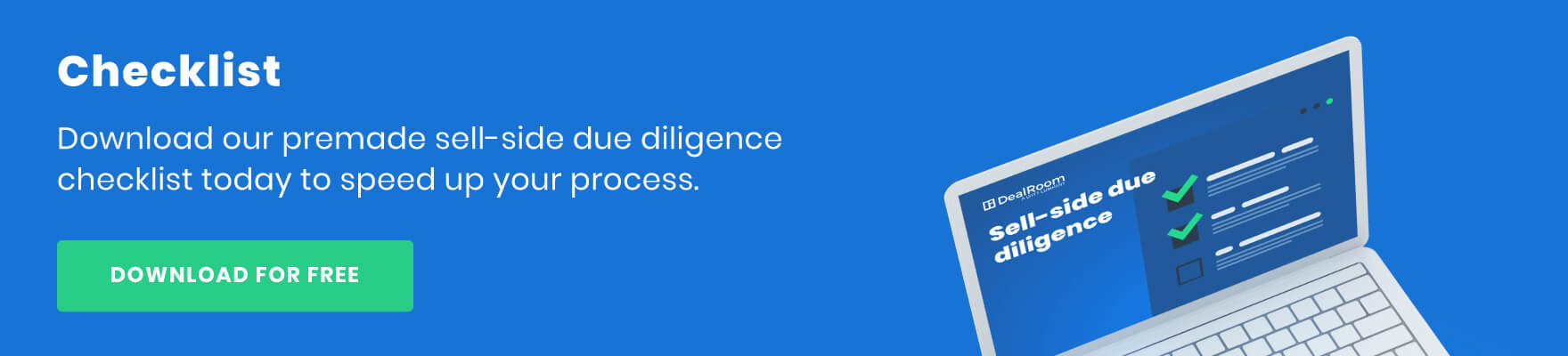 sell side due diligence checklist