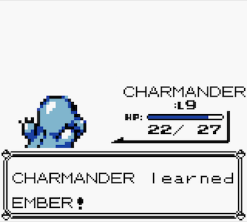 Charmander is taking his career into his own hands