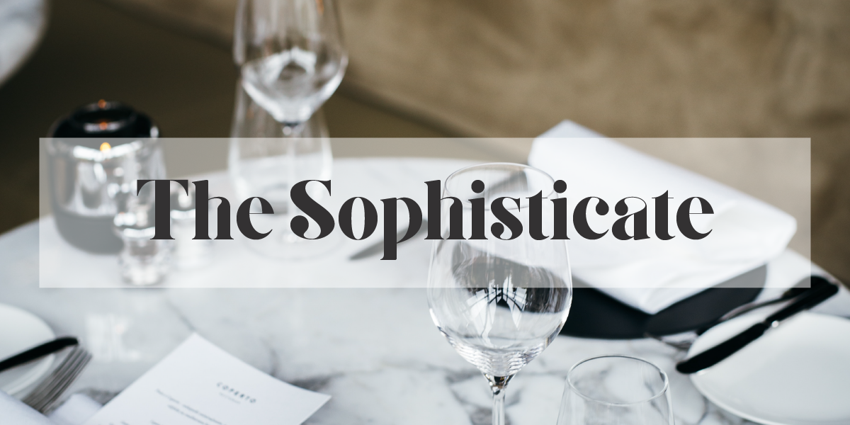 The Sophisticate
