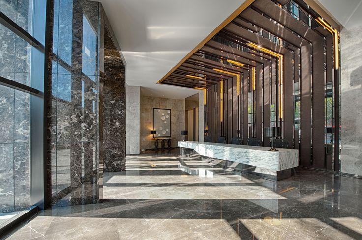marble hotel lobby