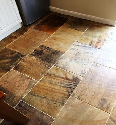 sandstone floor repairing