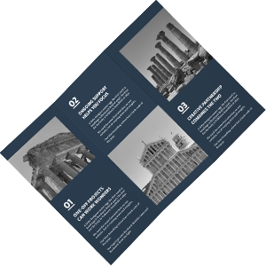 Leaflet featuring Lunalight Limited branding