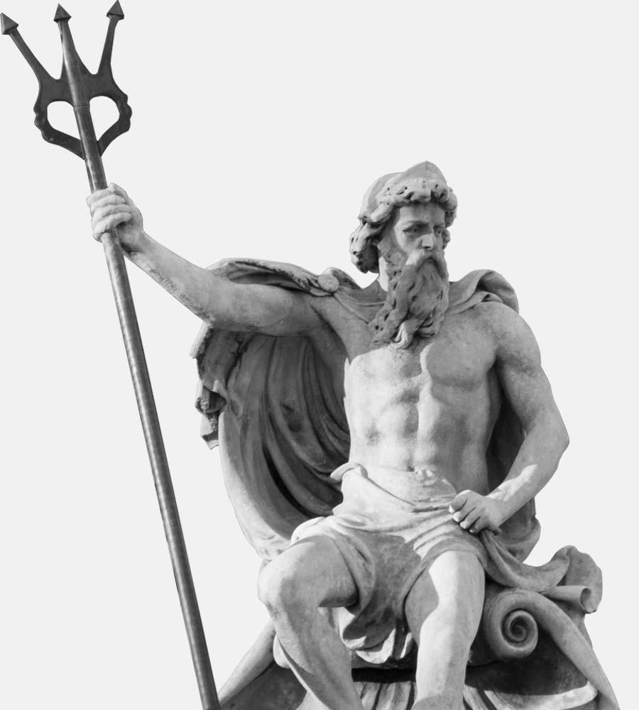 Cheltenham Neptune Fountain Sculpture Photograph by Lunalight Limited