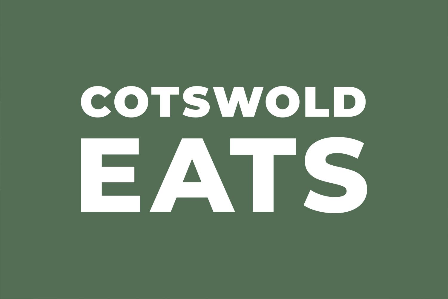 Cotswold Eats Logo Design by Lunalight Limited