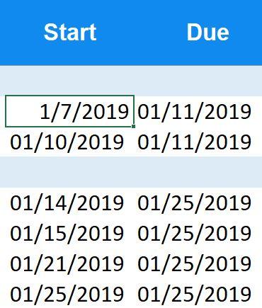 Free Excel Gantt Chart Template 2019 | By Instagantt