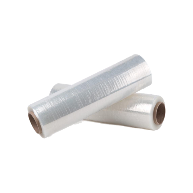 Two rolls of shrink wrap.