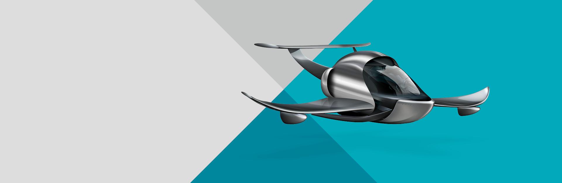 Exclin Vertex Recreational Vehicle concept - landing