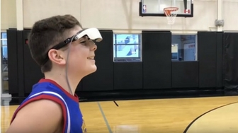 Unbelievable: Nearly Blind Boy Sinks NBA 3-Pointer