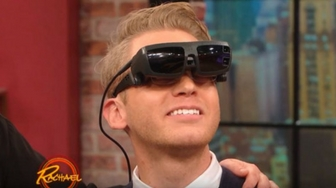 eSight on Rachael Ray: Gene Sees for the First Time!