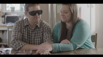 Blind man will finally get to see his wife walk down the aisle