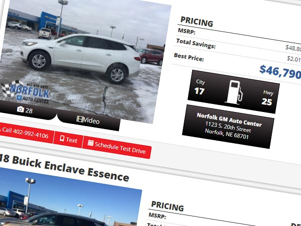 Car Shopping Mobile Image