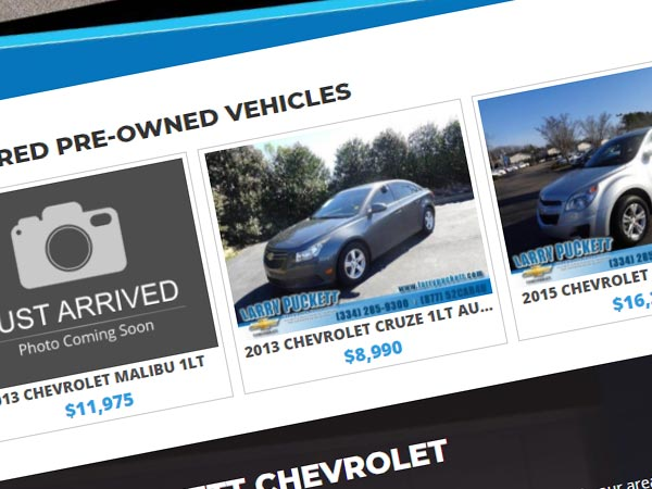 Featured Vehicle Slider Image