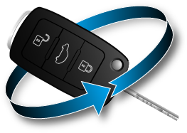 Car Key Graphic