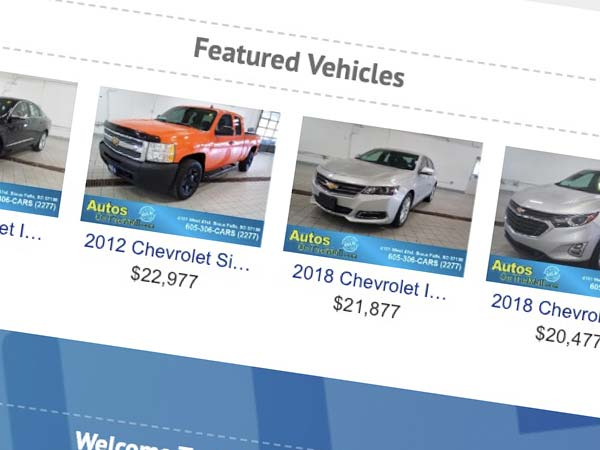 Featured Vehicle Slider Image