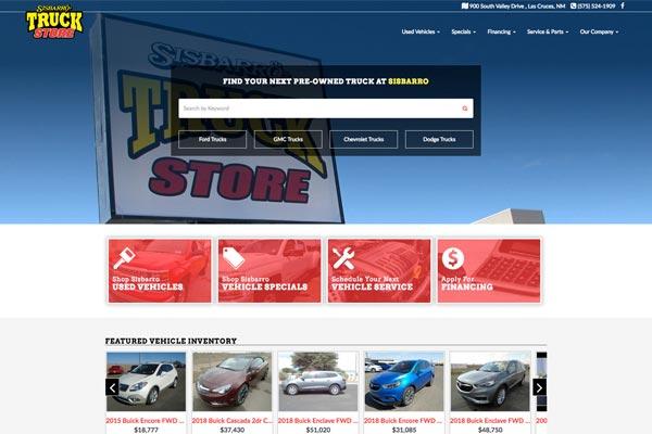 Sisbarro Truck Store
