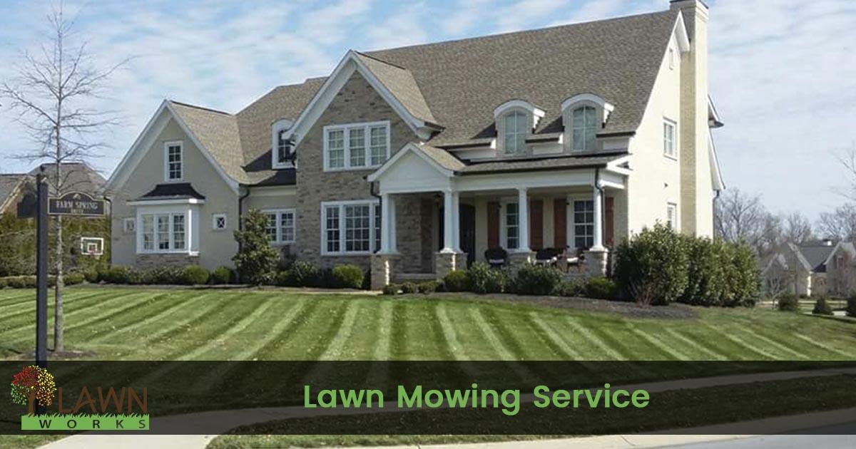 Lawn Mowing Service Lawn Works