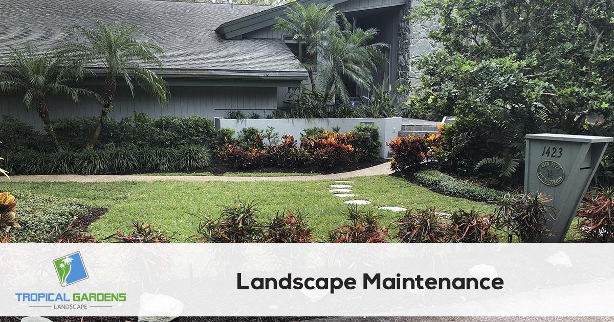 landscape maintenance in sarasota florida
