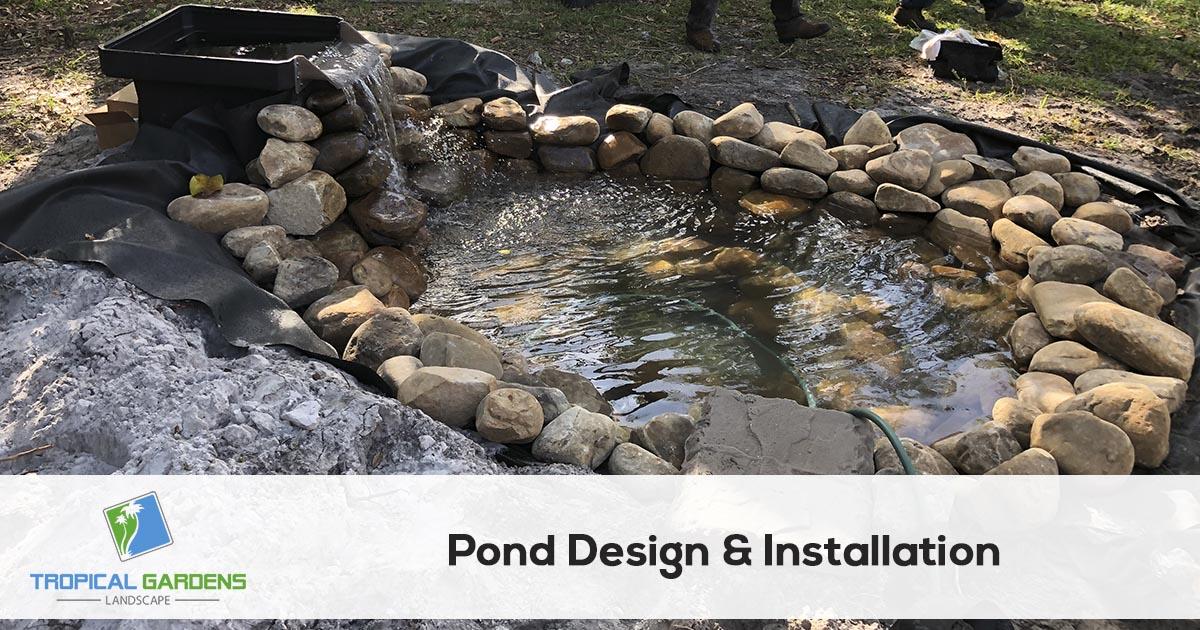 pond contractor in sarasota florida