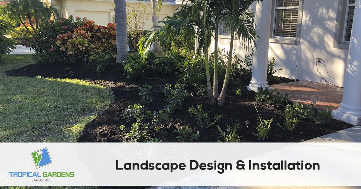 landscape design and installation in sarasota florida