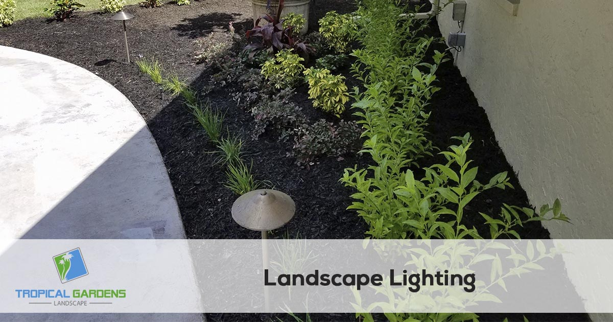 landscape lighting in sarasota florida