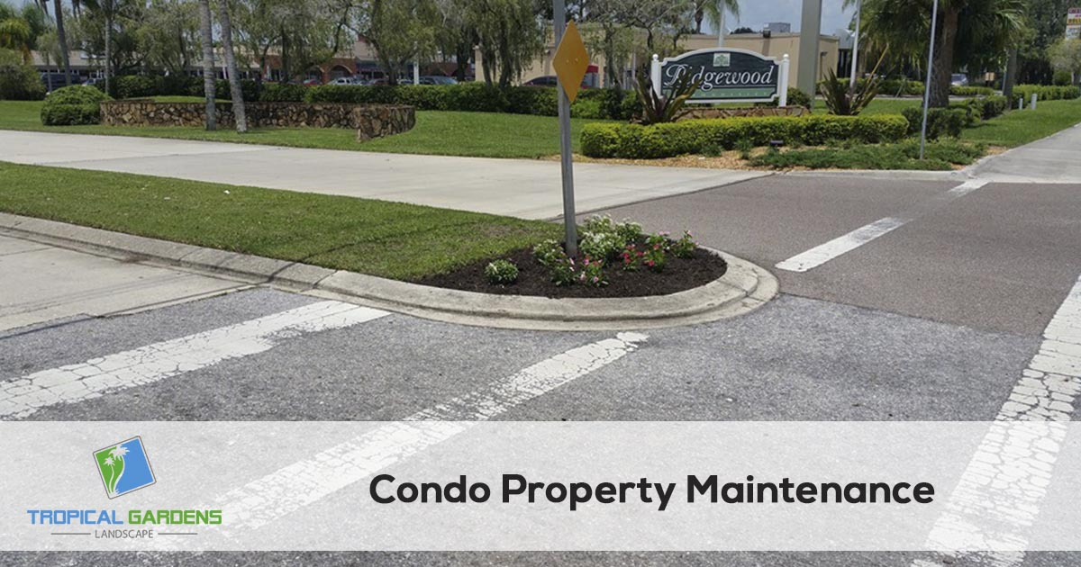 Condominium Property Maintenance in Sarasota Florida