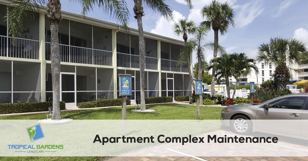 Apartment Property Maintenance in Sarasota florida