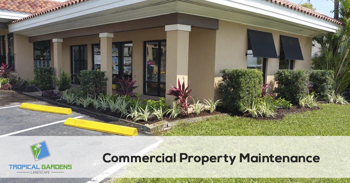 commercial property maintenance in sarasota florida