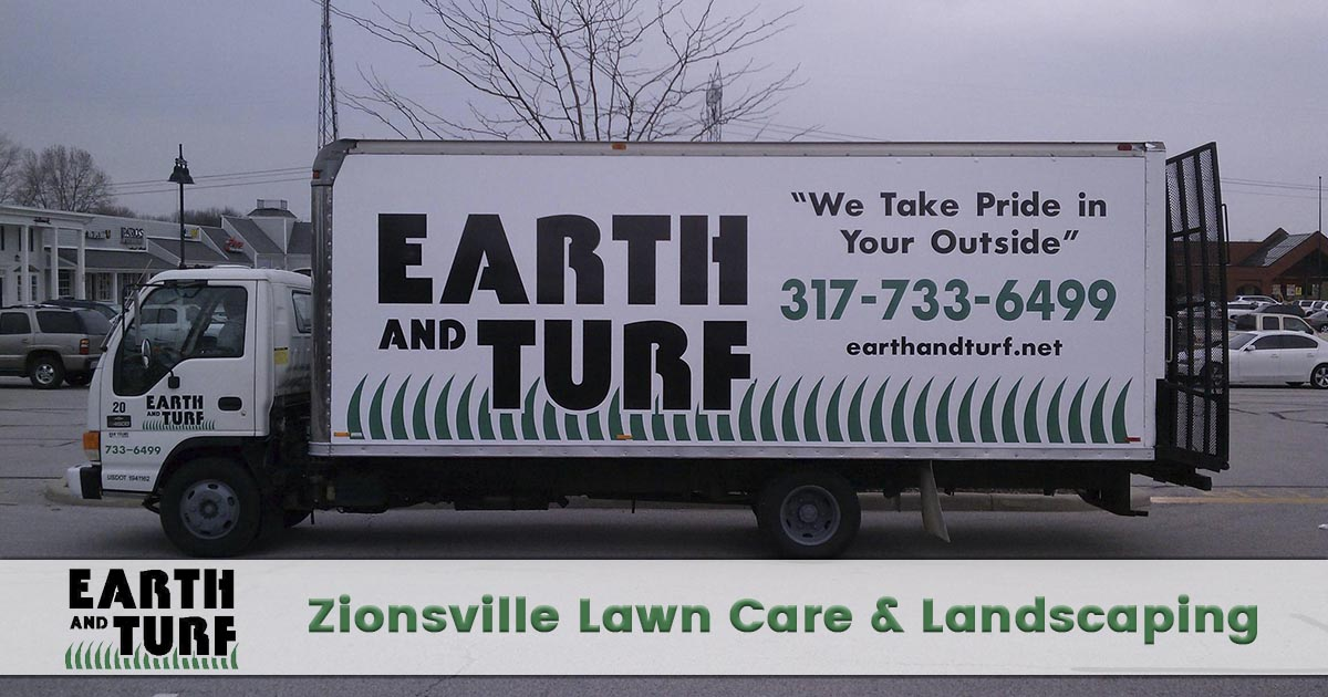 lawn care and landscaping in Zionsville, Indiana