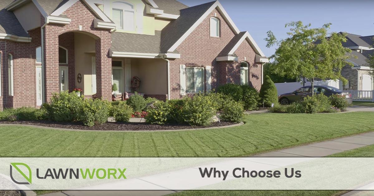 Why choose LawnWorx