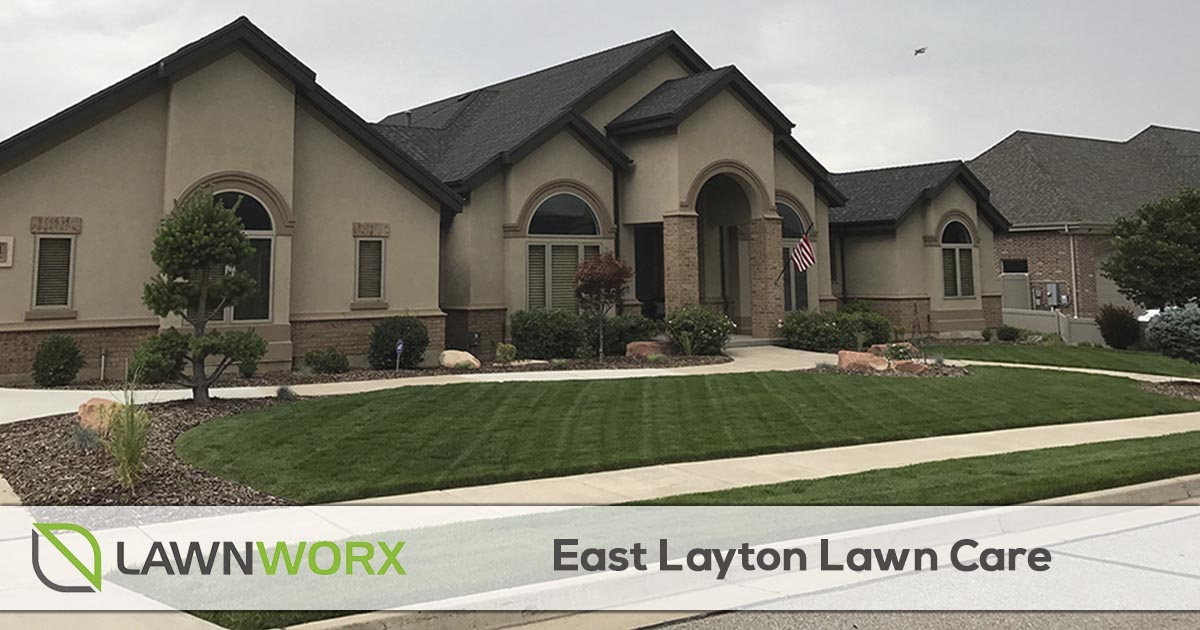 East Layton lawn care and landscape maintenance